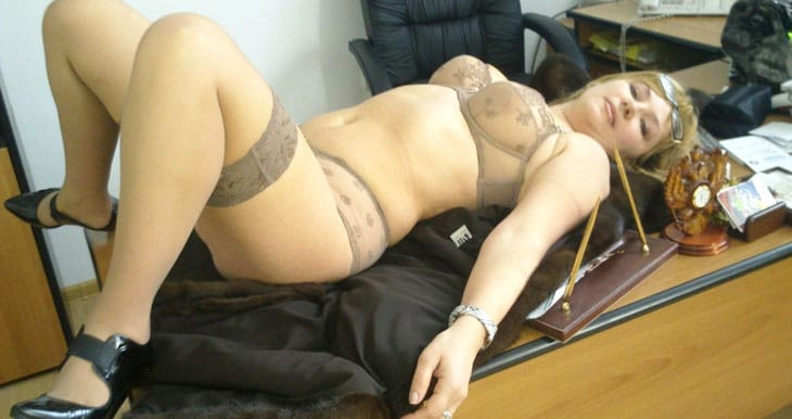 bored horny secretary